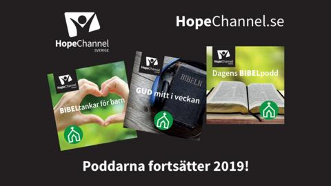 Poddar 2019 - HopeChannel.se - reklam